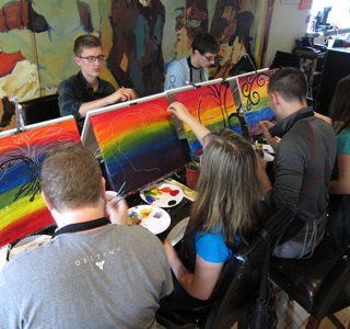 Quarterly Event: painting class